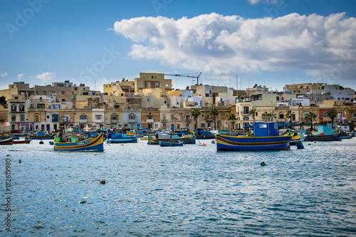 Plakat Port Malta
