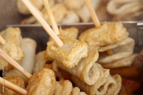 korean street food of fish cake