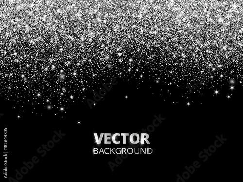 Photo  Falling glitter confetti