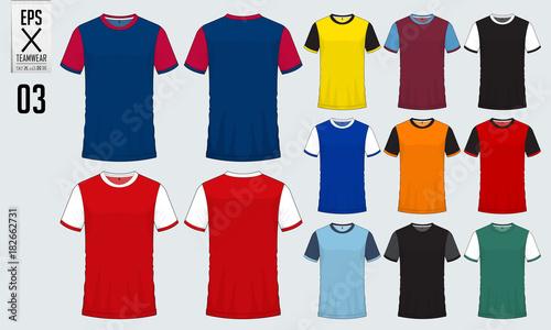 t shirt sport design for soccer jersey football kit or sport