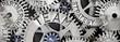 canvas print picture - Metal Wheel Concept