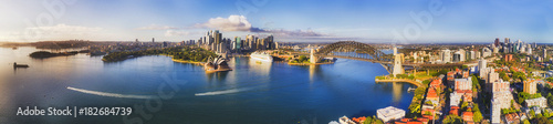 Fotografía  Drone Sydney Kirrib CBD 2 North Wide Pan