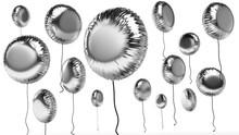 3d Rendered Foil Balloons