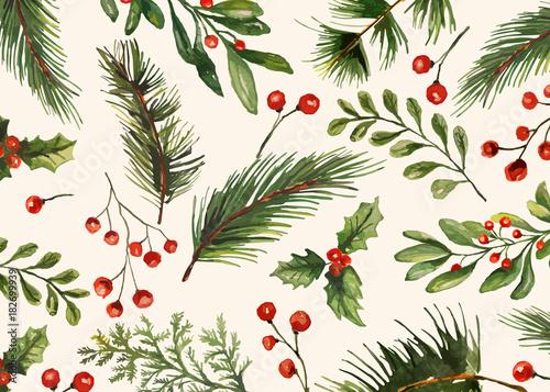 Cuadros en Lienzo Holiday Greeting Cards, retro style