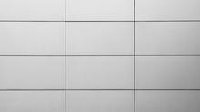 Luxury Meatl Tiles Wall At Modern Building