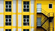 Yellow Window Pattern