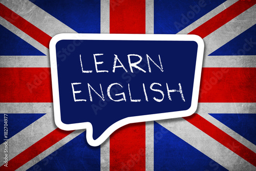 Learn English Language Fotobehang