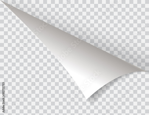 Fotografía Shape of bent angle is free for filling. Vector Illustration.