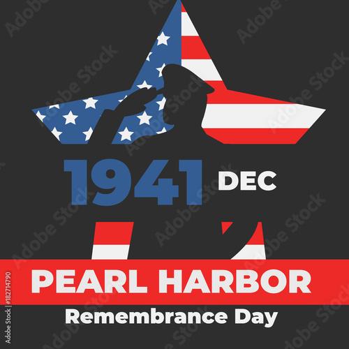 Fotografie, Obraz Pearl Harbor Remembrance Day 7 December 1941 , 2017