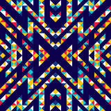 Wzór trójkątów i linii. Zygzaki i ostre rogi. Ruch kształtów geometrycznych. - 182729958