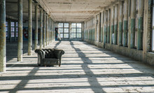 Chair In An Abandoned Factory