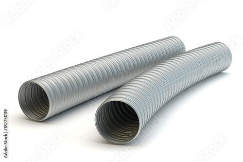 Aluminium air tubes Canvas-taulu