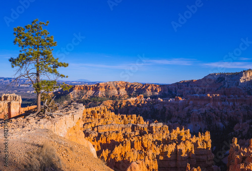 Keuken foto achterwand Turkoois Wonderful Scenery at Bryce Canyon National Park in Utah