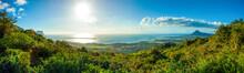 Landscape  Of Mauritius Island
