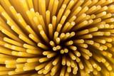 Spaghetti pasta macro