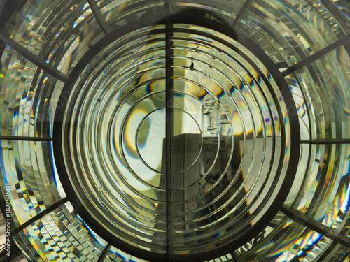 Fotografia, Obraz Leuchtturmlinse Vorderansicht