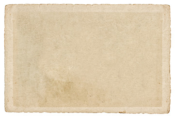 Fototapeta Used paper cardboard edges Texture Background