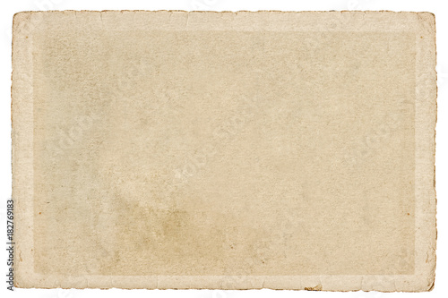 Used paper cardboard edges Texture Background
