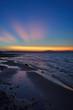Bel tramonto sul lago di Bracciano
