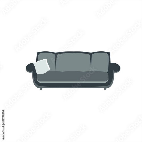 Sofa Icon Vector Illustration Buy This Stock Vector And Explore
