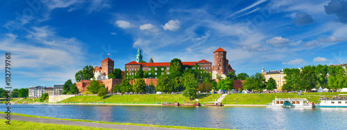 Photo sur Aluminium Cracovie Wawel castle, Poland