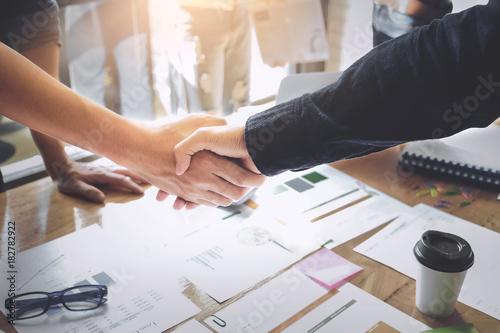Fotografie, Obraz  Business Partnership concept