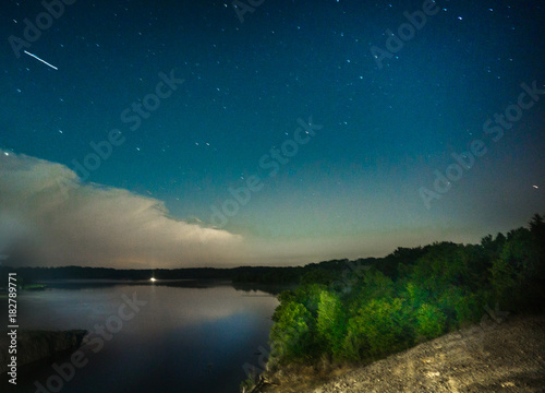 Bob Ross Night Time - Buy this stock photo and explore