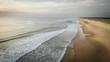 Luftaufnahme vom Strand Moliets et Maa