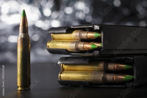 Fotografia, Obraz Five five six ammo