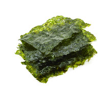 Dried Seaweed Isolated On The ...