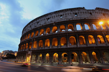 Evening in Rome, Italy