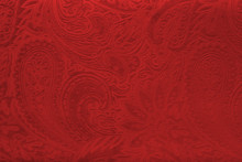 Red Velvet Fabric With A Vinta...
