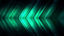 Emerald Green Blinking Glitter Background.