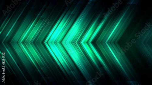 Cuadros en Lienzo Emerald green blinking glitter background.