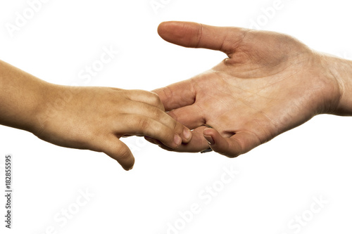 Photo small and big hand