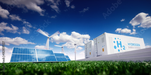 Fotografia  Ecology energy solution
