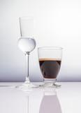 Cafe corretto con Grappa