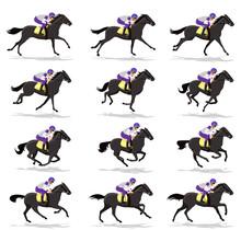 Horse Rider, Horse Running, Si...