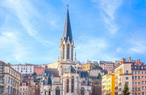 Photo Arhitectures in the old town of Lyon