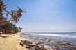 Landscape, coast of the Indian Ocean