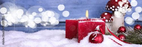zweiter advent Tableau sur Toile