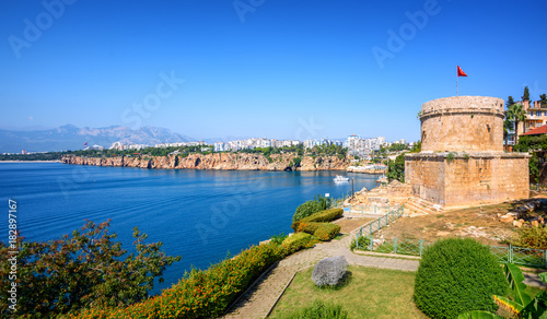 Poster Turquie Panoramic view of Antalya city, Turkey