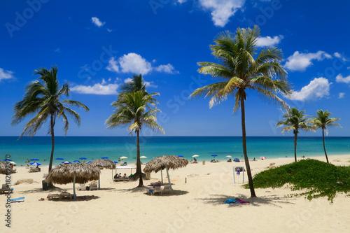 mata magnetyczna Playa del Este auf Kuba
