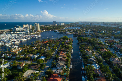 Fotomural Aerial image of Broward County Fort Lauderdale