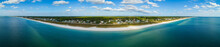 Aerial Mexico Beach Florida