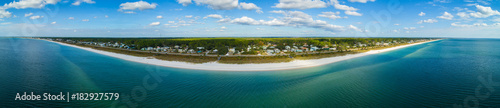 Aluminium Prints Green blue Aerial Mexico Beach Florida