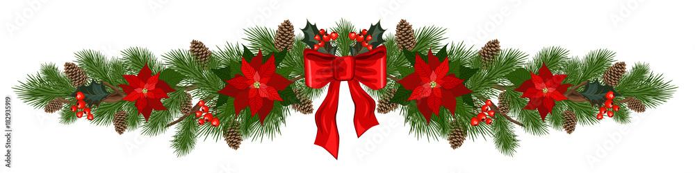 Fototapeta christmas holiday decorations