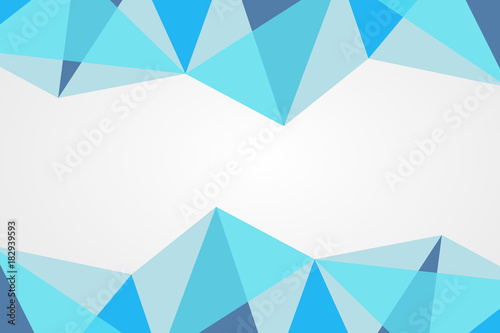 abstract background vector polygonal blue pattern infographic