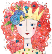 Magical Queen Of Love With Hea...