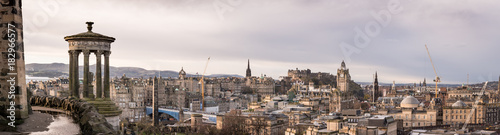 Papiers peints Paris Edinburgh panoramic view